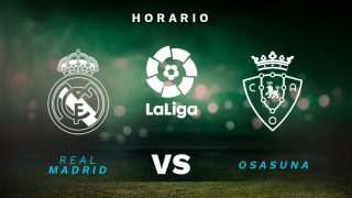 Real Madrid – Osasuna: jornada 34 de la Liga Santander.