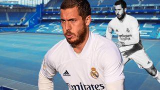 Eden Hazard, jugador del Real Madrid.