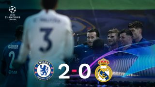 El Chelsea se impuso 2-0 al Real Madrid.