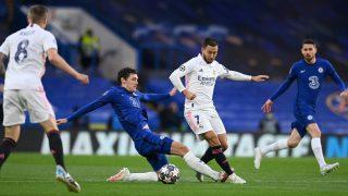 Hazard en un partido ante el Chelsea. (AFP)