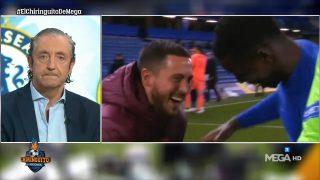 La brutal bronca de Pedrerol a Hazard que se ha hecho viral hasta en Inglaterra