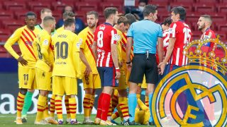 El Atlético confía en el Barcelona.