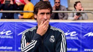 Raúl González, durante un partido del Castilla (EFE).