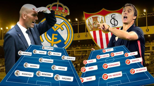 Real Madrid – Sevilla: Primera final por la Liga