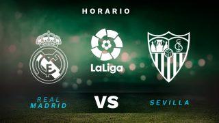Liga Santander 2020-2021: Real Madrid – Sevilla | Horario del partido de fútbol de la Liga Santander.