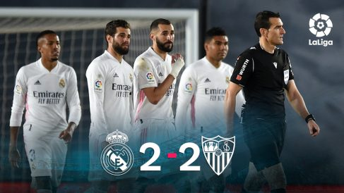 El Real Madrid y el Sevilla empataron en el Di Stéfano.