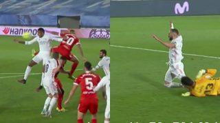 Los dos penaltis de la polémica.