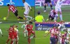 Los ocho penaltis por manos que le han birlado al Real Madrid
