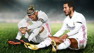 El Real Madrid suma más de 60 lesiones en lo que va de temporada.