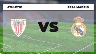 Dónde ver el Athletic – Real Madrid hoy en vivo online y en directo por televisión.