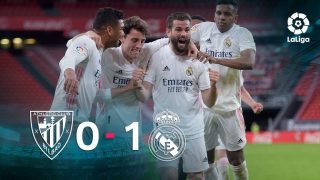 El Real Madrid se impuso 0-1 al Athletic en San Mamés.