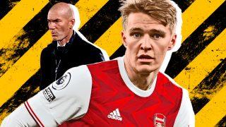 Ödegaard no quiere volver al Real Madrid si sigue Zidane.