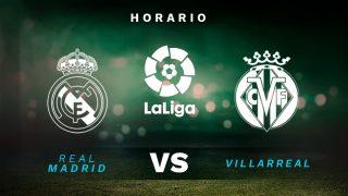 Liga Santander 2020-2021: Real Madrid – Villarreal | Horario del partido de fútbol de la Liga Santander.