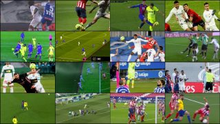 Algunas de las jugadas revisadas por el VAR que condicionan el final de Liga.