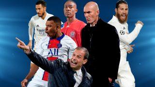 Hazard, Mbappé, Alaba, Allegri, Zidane y Sergio Ramos.