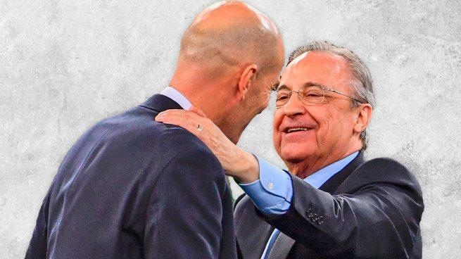 Sólo Florentino puede convencer a Zidane para que se quede