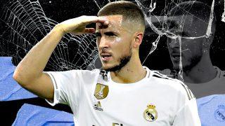 El futuro de Hazard en el Real Madrid no es nada claro.