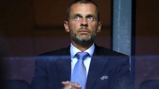 Ceferin, presidente de la UEFA (Getty)
