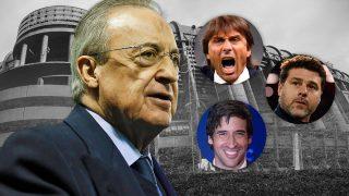 Antonio Conte, Raúl y Pochettino quieren el banquillo blanco.