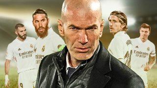 Zidane deja atrás a su guardia pretoriana.
