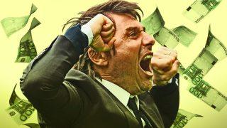 Antonio Conte, un fichaje que no le saldría barato al Real Madrid.