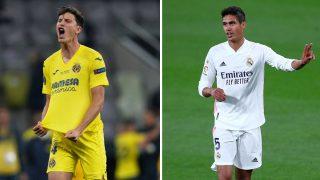 Pau Torres y Raphael Varane (AFP/ Getty)
