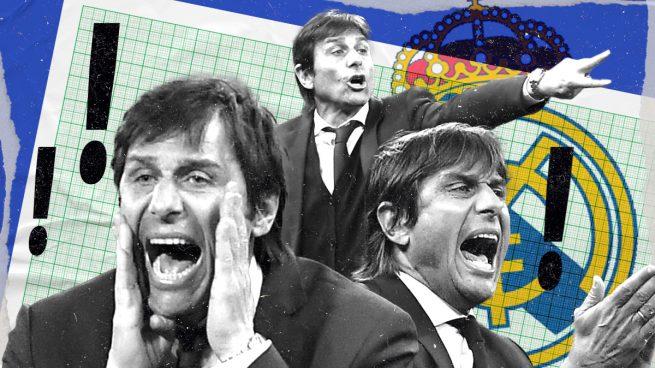 La plantilla del Real Madrid recela de Conte