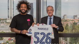 Marcelo y Florentino Pérez.