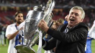 Carlo Ancelotti, con la Décima Champions League. (AFP)