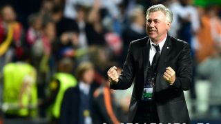 Ancelotti celebra la Champions. (AFP)