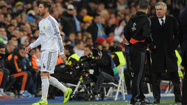 Ancelotti Sergio Ramos