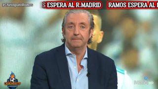 La tremenda rajada de Pedrerol contra Sergio Ramos