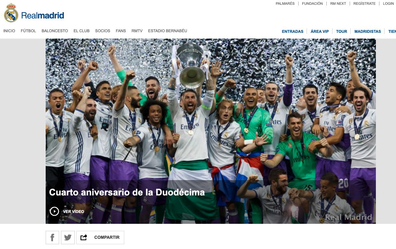 Cristiano Ronaldo, 'abducido' de la foto del aniversario de la Duodécima