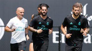 Antonio Pintus, durante un entrenamiento en su anterior etapa en el Real Madrid. (realmadrid.com)