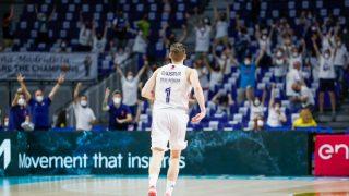 Causeur fue el máximo anotador del Madrid con 22 puntos.
