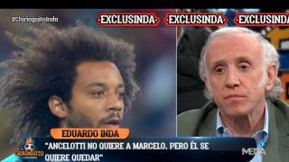 Marcelo ya sabe que tampoco cuenta para Ancelotti.