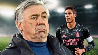 Ancelotti pide un esfuerzo por Varane.