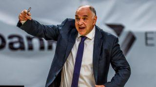 Pablo Laso, durante el partido ante Valencia Basket (EFE).