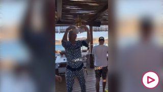 Haaland, desatado de fiesta en Grecia en compañía de Mahrez