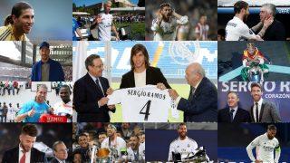 Todos los looks de Sergio Ramos en el Real Madrid.