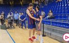 El señorío de Llull con Pau Gasol tras perder la Liga: emotivo momento premiado así por el Palau