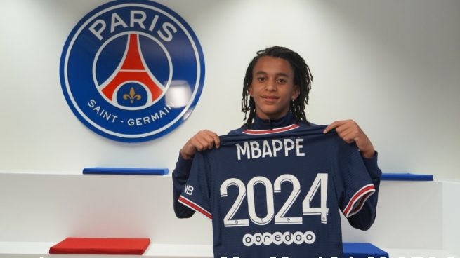 Mbappé renueva PSG