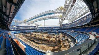 El Bernabéu, en una imagen tomada esta semana.