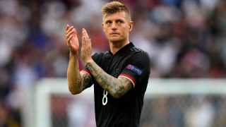 Kroos, en un partido de Alemania. (Getty)