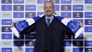 Rafa Benítez, nuevo entrenador del Everton.