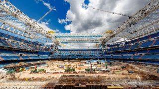 Vista de las obras del Santiago Bernabéu (Realmadrid.com).