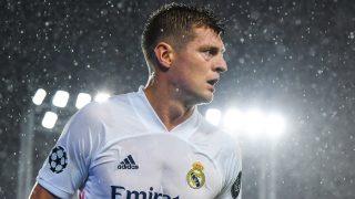 Toni Kroos, en un partido con el Real Madrid. (Getty)