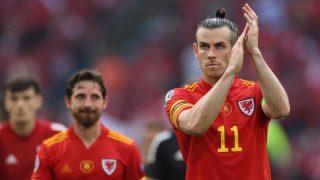 Gareth Bale, tras un partido con Gales en la Eurocopa. (AFP)
