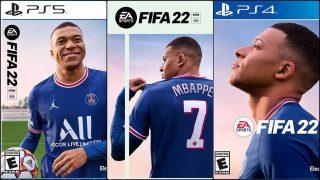 Mbappé, portada del FIFA 22.