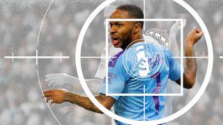 Raheem Sterling, jugador del Manchester City.